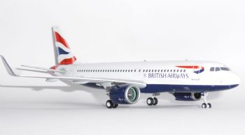 Airbus A320 NEO British Airways Gemini Jets  Dieacast Collectors Model Scale 1:200 G2BAW755 G-TTNA E